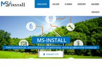 Slika naslovnice sjedišta: MS-INSTALL – Elektroinstalacije, automatizacija, projektiranje, instalacije vodovoda i kanalizacije (http://www.ms-install.hr)