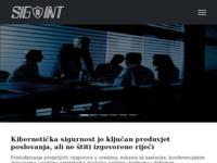 Slika naslovnice sjedišta: Signal Intelligence d.o.o. (http://www.sigint.hr)