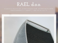 Frontpage screenshot for site: RAEL d.o.o. (http://www.rael.hr)