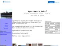Slika naslovnice sjedišta: Apartmani  Babić (http://www.apartment-babic.freeservers.com/)
