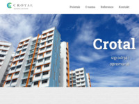 Frontpage screenshot for site: Crtoal d.o.o. (http://www.crotal.hr)