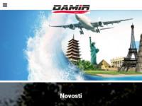 Slika naslovnice sjedišta: Damir Tours (http://www.damir.hr/)