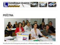 Slika naslovnice sjedišta: Autoškola Dugave (http://www.autoskola-dugave.hr/)