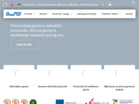Slika naslovnice sjedišta: Gumiimpex d.o.o. Varaždin (http://www.gumiimpex.hr)
