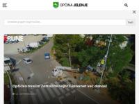 Slika naslovnice sjedišta: Portal općine Jelenje (http://www.jelenje.hr/)