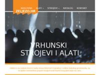 Slika naslovnice sjedišta: Trgovina Željezo d.o.o. (http://www.zeljezo.hr/)