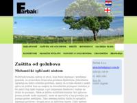Slika naslovnice sjedišta: Zaštita od golubova i ptica, izrada konektora (http://www.farbak.hr/)