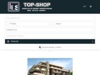 Frontpage screenshot for site: Top-Shop agencija za promet nekretninama (http://www.top-shop.hr/)
