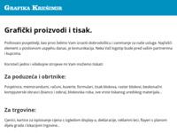 Slika naslovnice sjedišta: Grafika Krešimir d.o.o. (http://www.grafika-kresimir.hr)