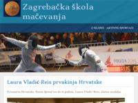 Slika naslovnice sjedišta: Mačevalački klub Zagrebačka škola mačevanja (http://www.skola-macevanja.hr/)