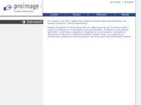 Frontpage screenshot for site: Pro image - poduka stranih jezika (http://www.proimage.hr/)