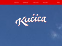 Frontpage screenshot for site: Kućica (http://kuchica.com/)