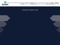 Frontpage screenshot for site: Katalog privatnog smještaja (http://www.meetcroatia.net)