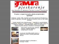 Frontpage screenshot for site: Graviranje i pjeskarenje stakla i metala (http://free-vt.htnet.hr/graver/)