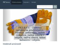 Slika naslovnice sjedišta: PKT d.o.o. - Zaštita na radu (http://www.pkt.hr)