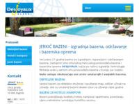 Slika naslovnice sjedišta: Bazeni Jerkić d.o.o. (http://www.jerkic.hr/)