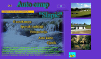 Frontpage screenshot for site: Autocamp Slapić (http://www.inet.hr/~autocamp/)