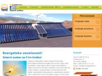 Frontpage screenshot for site: Sunce i partneri - sunčevi kolektori (http://www.sunceipartneri.hr/)