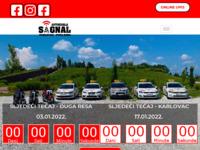 Slika naslovnice sjedišta: Autoškola Signal (http://www.autoskola-signal.hr)