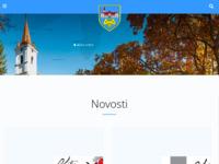 Frontpage screenshot for site: (http://www.kutjevo.hr)