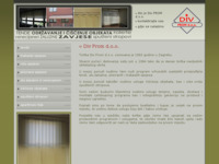 Slika naslovnice sjedišta: Div Prom d.o.o. (http://www.div-prom.hr)