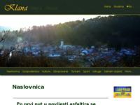 Slika naslovnice sjedišta: Općina Klana (http://www.klana.net)