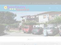 Frontpage screenshot for site: Apartmani Sandra - Banjole (http://www.banjole-apartmani.com)