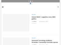 Slika naslovnice sjedišta: Carinski sindikat Hrvatske (http://www.csh.hr)