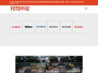 Frontpage screenshot for site: (http://www.foto-metromarket.hr)