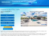 Frontpage screenshot for site: Umag Nekretnine (http://www.kvintet.hr)