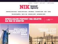 Frontpage screenshot for site: Turistička agencija NIK (http://www.nik.hr)