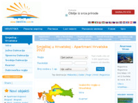 Frontpage screenshot for site: Apartmani Hrvatska privatni smještaj (http://www.smjestaj.com.hr)