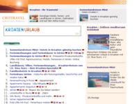 Frontpage screenshot for site: 47 privatnih smještaja u Istri (http://www.kroatien-links.de/privat-istrien.htm)