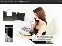 Slika naslovnice sjedišta: Marković samoposlužni aparati (http://www.markovic-samoposluzni-aparati.hr)