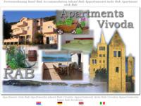 Frontpage screenshot for site: Apartmani Vivoda - Supetarska Draga - Rab (http://free-ri.htnet.hr/apartmani-vivoda)