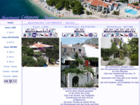 Frontpage screenshot for site: Apartmani Cvitanović, Igrane (http://www.igrane.com/cvitanovic/)