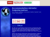 Frontpage screenshot for site: Smjestaj Jadran (http://maru59.tripod.com/)
