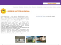 Slika naslovnice sjedišta: Solara Design, zaštita od sunca (http://www.solaradesign.hr)