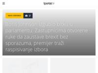 Slika naslovnice sjedišta: T portal (http://www.tportal.hr/)
