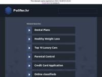Slika naslovnice sjedišta: Polifer d.o.o. (http://www.polifer.hr)