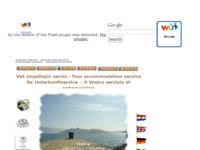 Frontpage screenshot for site: Putnička agencija Rivaturist Baška (http://www.rivaturist-baska.hr)
