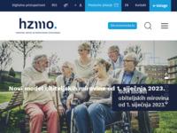 Slika naslovnice sjedišta: Hrvatski zavod za mirovinsko osiguranje (http://www.mirovinsko.hr/)