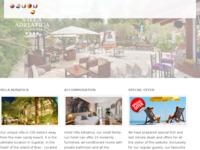 Frontpage screenshot for site: (http://www.villaadriatica.com)