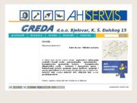Slika naslovnice sjedišta: Greda d.o.o. za trgovinu i usluge, Bjelovar (http://www.greda.hr/)