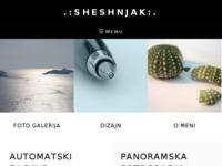 Frontpage screenshot for site: Sheshnjak (http://tomislavdekovic.iz.hr)