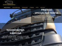 Slika naslovnice sjedišta: Klopić d.o.o. (http://www.klopic.hr)