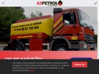 Slika naslovnice sjedišta: Aspetrol d.o.o. (http://www.aspetrol.hr/)