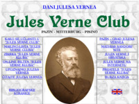 Frontpage screenshot for site: Jules Verne Club (http://www.ice.hr/davors/jvclub.htm)
