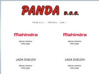 Slika naslovnice sjedišta: Panda d.o.o. (http://panda.hr/)
