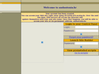 Frontpage screenshot for site: Andautonia - slikarska platna i uokvirivanje slika (http://www.andautonia.hr/)